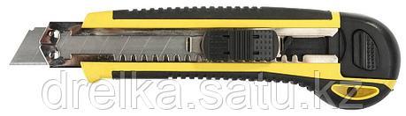"Набор STAYER Нож ""PROFI"" с запасными сегмент. лезвиями, 8шт, самофикс., 18мм  , фото 2"