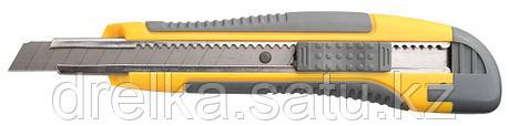 """Нож STAYER """"MASTER"""" с выдвижным сегмент. лезвием, пластмас., упроч., 9мм   , фото 2"""
