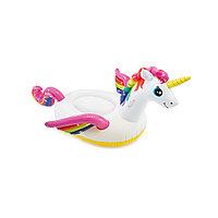 Надувная игрушка Intex 57561NP в форме единорога для плавания, фото 1