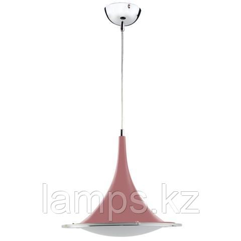 Люстра подвесная светодиодная MIRA 15W розовый 4000K