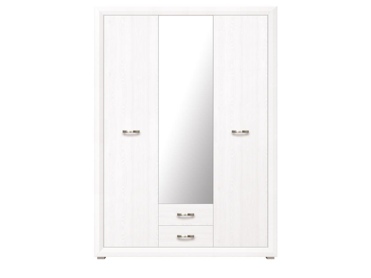 Шкаф для одежды 3Д , коллекции Мальта, Лиственница сибирская, БРВ Брест (Беларусь)
