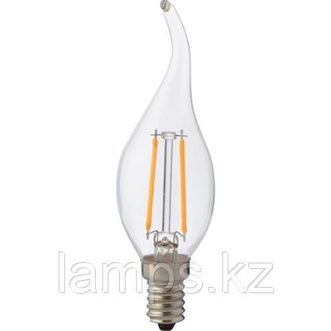 Светодиодная Лампа Эдисона декоративная FILAMENT FLAME-2 2W 2700K