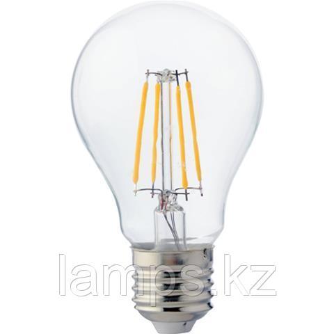 Светодиодная Лампа Эдисона декоративная FILAMENT GLOBE-4 4W 2700K