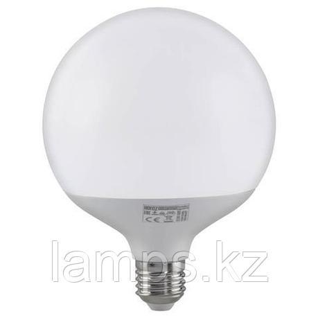 Светодиодная лампа LED GLOBE-20 20W 3000K , фото 2
