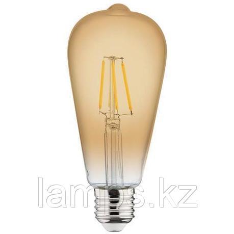 Светодиодная Лампа Эдисона декоративная RUSTIC VINTAGE-4 4W 2200K , фото 2