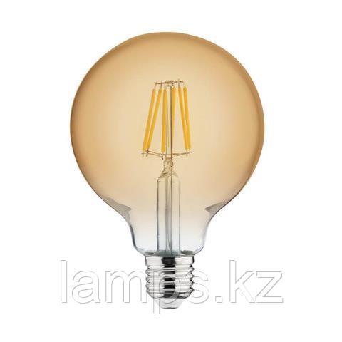 Светодиодная Лампа Эдисона декоративная RUSTIC GLOBE-6 6W 2200K