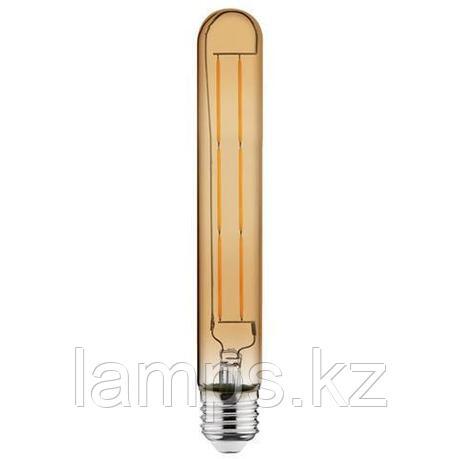 Светодиодная Лампа Эдисона декоративная RUSTIC TUBE-6 6W 2200K , фото 2