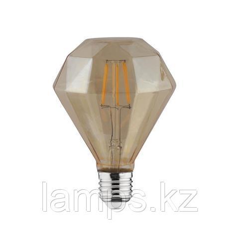 Светодиодная Лампа Эдисона декоративная RUSTIC DIAMOND-4 4W 2200K