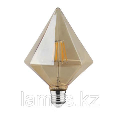 Светодиодная Лампа Эдисона декоративная RUSTIC PYRAMID-6 6W 2200K