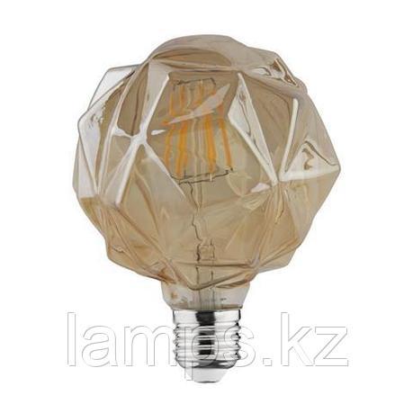 Светодиодная Лампа Эдисона декоративная RUSTIC CRYSTAL-4 4W 2200K , фото 2
