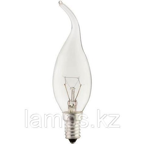 Лампа накаливания FLAME CLEAR-40 , фото 2