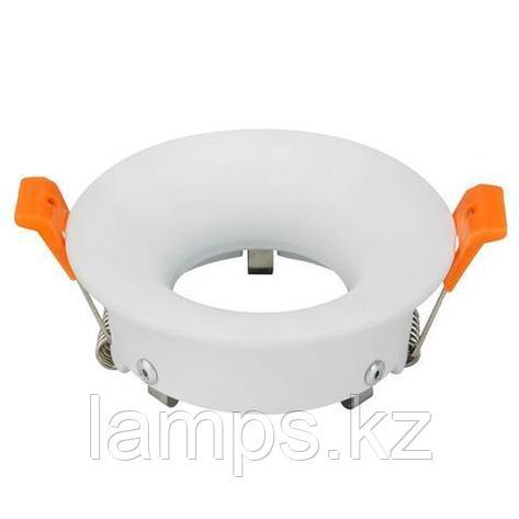 Спот встраиваемый MR16 KARANFIL-R белый, круглый, фото 2