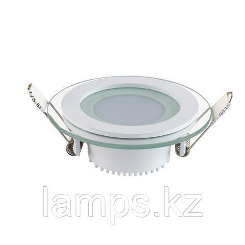 Панель светодиодная встраиваемая круглая CLARA-6 6W белый 6400K
