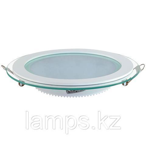 Панель светодиодная встраиваемая круглая CLARA-15 15W белый 6400K