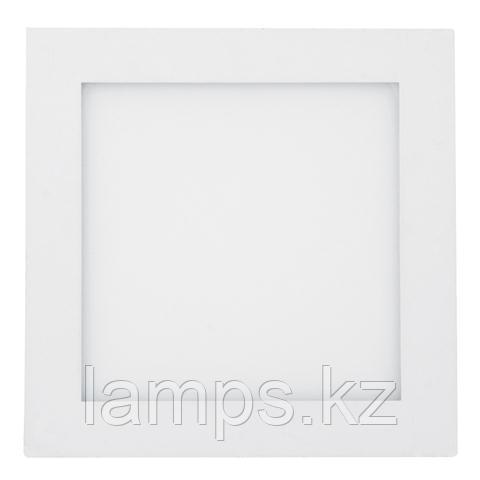Панель светодиодная накладная квадратная ARINA-12 12W белый 6000K