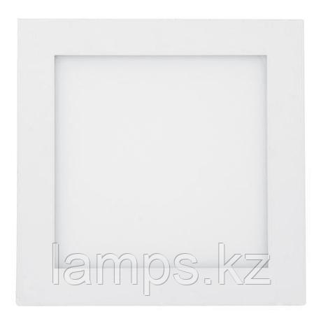 Панель светодиодная накладная квадратная ARINA-12 12W белый 6000K , фото 2