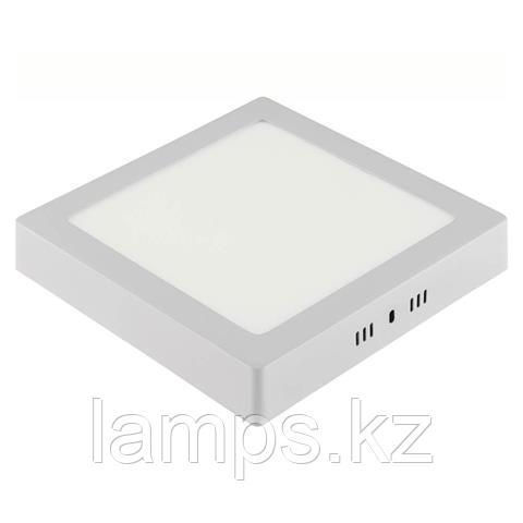 Панель светодиодная накладная квадратная ARINA-18 18W белый 6000K