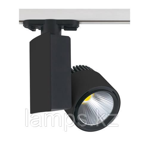 Светильник на шину, трековый, потолочный, светодиодный MADRID-23 23W черный 4200K