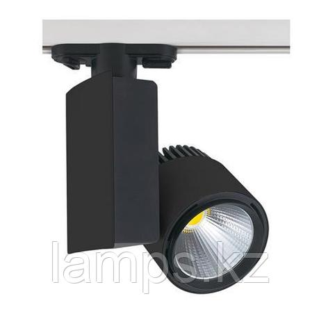 Светильник на шину, трековый, потолочный, светодиодный MADRID-23 23W черный 4200K, фото 2