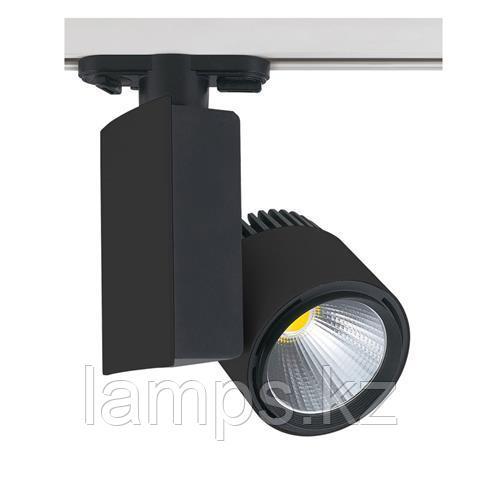 Светильник на шину, трековый, потолочный, светодиодный MADRID-40 40W черный 4200K