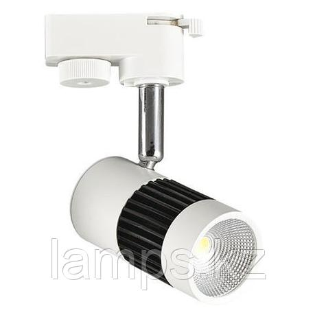 Светильник на шину, трековый, потолочный, светодиодный MILANO-8 8W белый 4200K, фото 2
