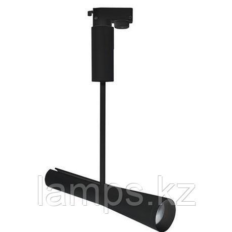 Светильник на шину, трековый, потолочный, светодиодный OSLO 10W черный 4200K, фото 2