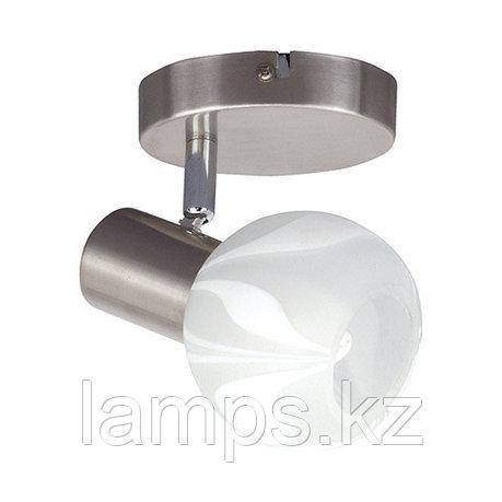 Потолочный светильник BODRUM-1 матовый хром, фото 2