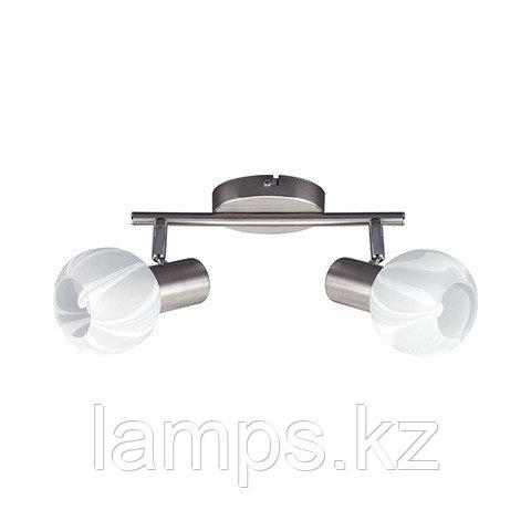 Потолочный светильник BODRUM-2 матовый хром