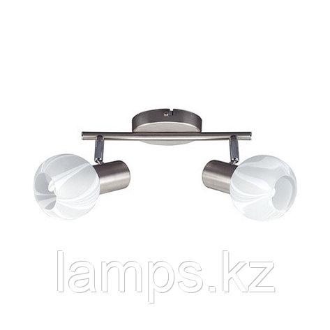 Потолочный светильник BODRUM-2 матовый хром, фото 2