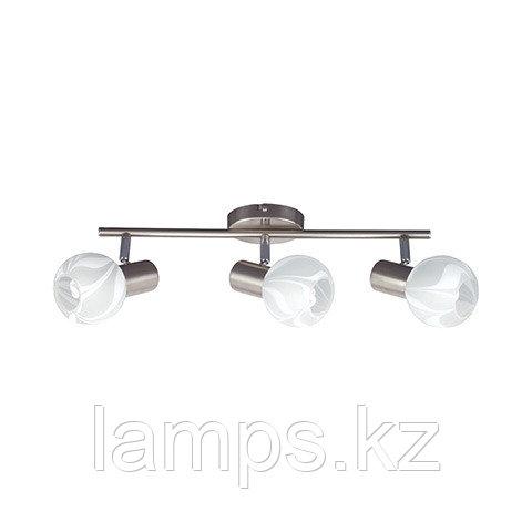 Потолочный светильник BODRUM-3 матовый хром
