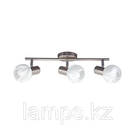 Потолочный светильник BODRUM-3 матовый хром , фото 2