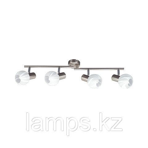 Потолочный светильник BODRUM-4 матовый хром