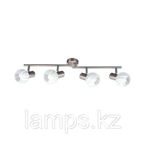 Потолочный светильник BODRUM-4 матовый хром , фото 2