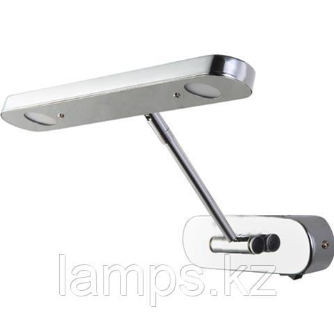Светильник светодиодный для подсветки зеркала LORI-6 6W хром 4200K