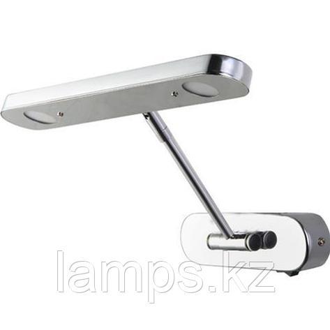 Светильник светодиодный для подсветки зеркала LORI-6 6W хром 4200K, фото 2