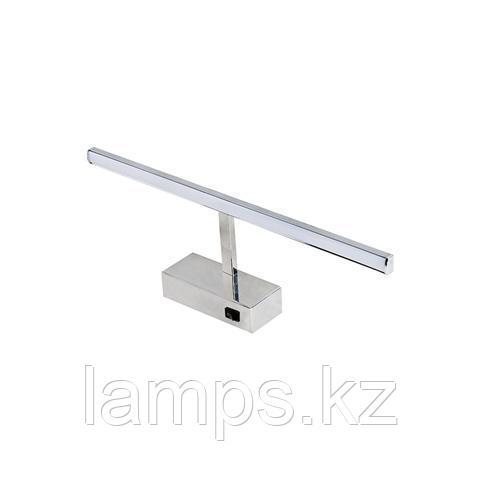 Светильник светодиодный для подсветки зеркала KANARYA-8 8W хром 4200K