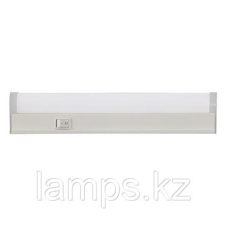 Настенный линейный светильник с выключателем, светодиодный SIGMA-4 30CM 4W 6400K , фото 2