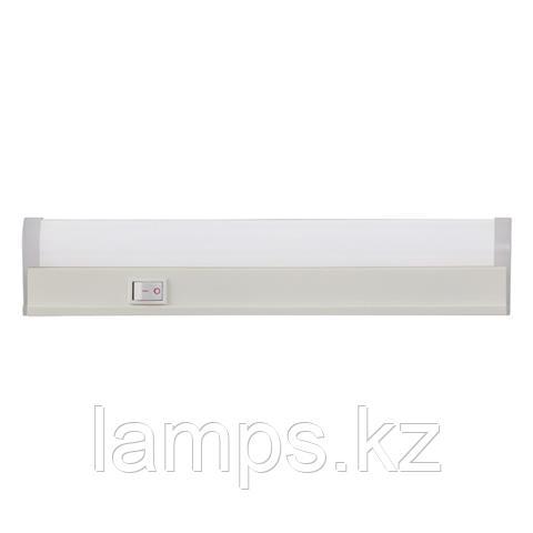 Настенный линейный светильник с выключателем, светодиодный SIGMA-8 60CM 8W 6400K
