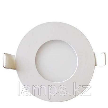LED панель светодиодная круглая D108 SLIM-6 6W 2700K, фото 2