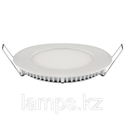 LED панель светодиодная круглая D132 SLIM-9 9W 2700K