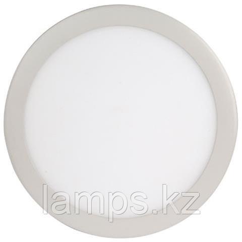 LED панель светодиодная круглая D215 SLIM-18 18W 2700K