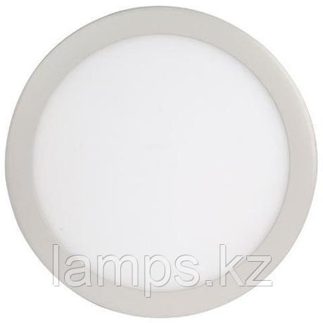 LED панель светодиодная круглая D215 SLIM-18 18W 2700K , фото 2