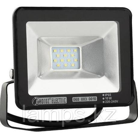 Прожектор герметичный светодиодный PUMA -10 10W черный 6400K , фото 2