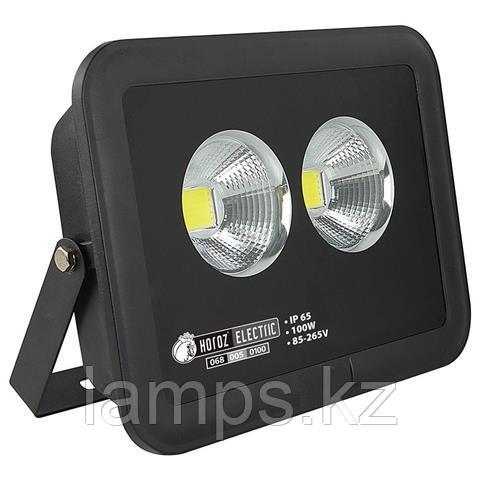 Прожектор герметичный светодиодный PANTER-100 100W черный 6400K