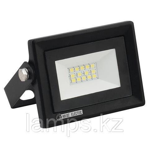 Прожектор герметичный светодиодный PARS-10 10W черный 6400K