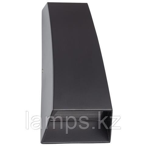 Уличный настенный светодиодный светильник SELVI 35W черный 4100K