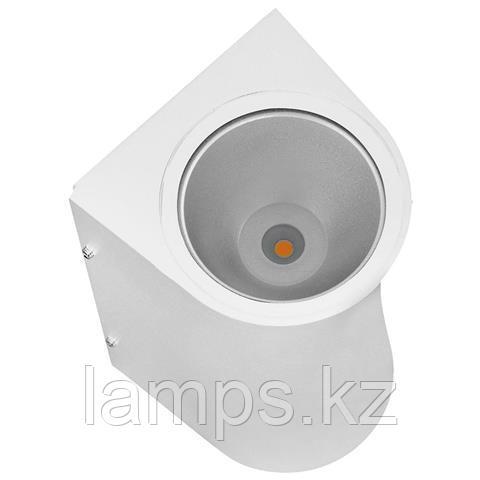 Уличный настенный светодиодный светильник, пылевлагозащищенный SERVI 12W белый 4200K