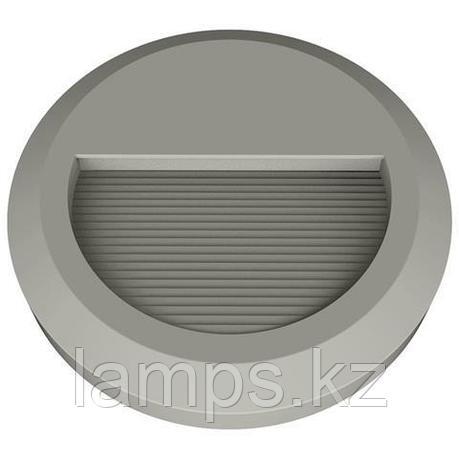Уличный настенный светодиодный светильник, пылевлагозащищенный IHLAMUR 2W темно серый 4200K, фото 2