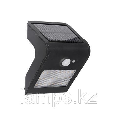Уличный настенный светодиодный светильник на солнечной батарее SIRIUS-1 1W 4000K 1.2V