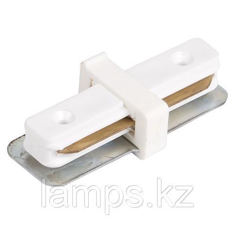 Коннектор (соединитель) прямой для шинопровода черный